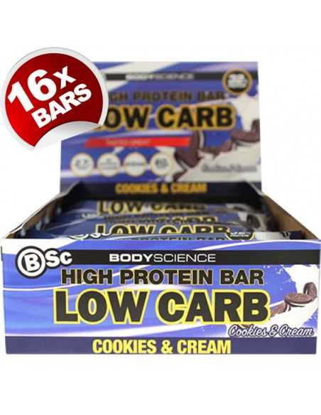 Body Science High Protein Bar 60g X 16