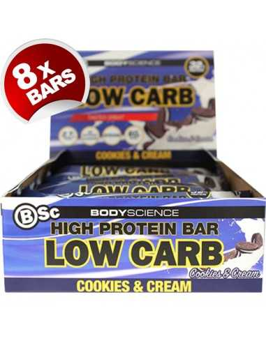 Body Science High Protein - Low Carb Bar 60g