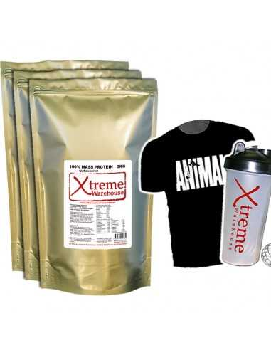 9Kg Mass Gain - Unflavoured - Weight Gainer Protein