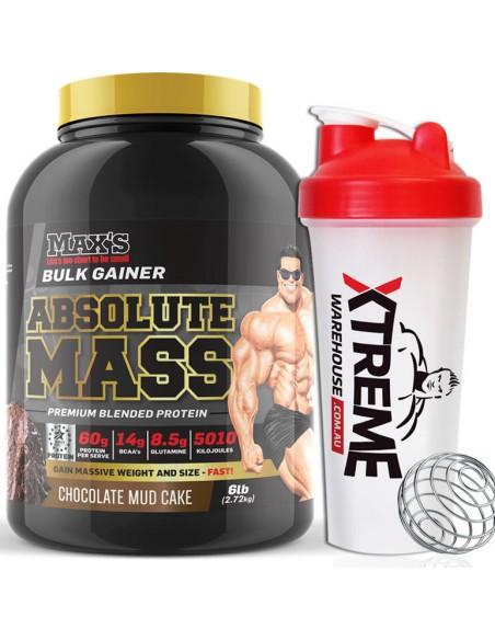 Max's Absolute Mass - Bulk Gainer