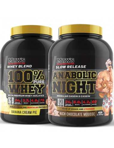 Max's Pure Whey Lean Stack