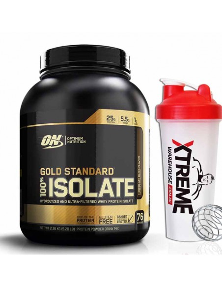 Optimum Nutrition Gold Standard 100% Isolate 76 Serve