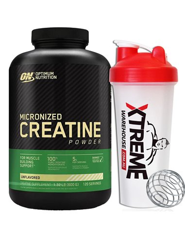 Optimum Nutrition Micronized Creatine Powder 600g
