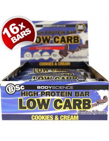 Body Science High Protein Bar 60g X 16