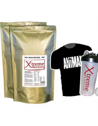 2 X 3Kg Mass Gain - Mix & Match flavours - Weight Gainer Protein