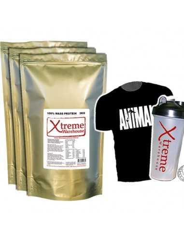 3 X 3Kg Mass Gain - Mix & Match flavours - Weight Gainer Protein