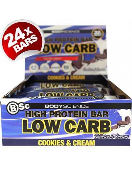 Body Science High Protein Bar 60g X 24