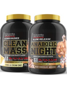 Max's Clean Mass Lean Gainer Stack
