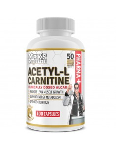 Max's Acetyl L-Carnitine Caps