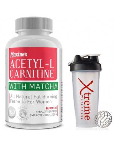 Maxines Acetyl L-Carnitine with Matcha Caps