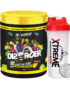 Disorder Pre Workout by Faction Labs