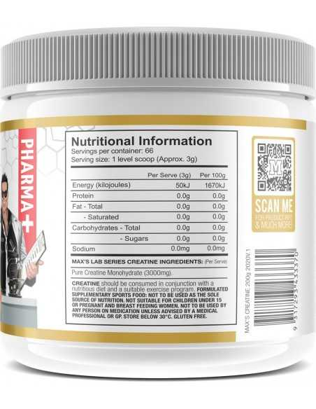 Creatine Monohydrate by Max's