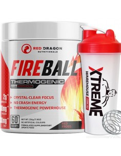 Fireball Thermogenic Pre Workout by Red Dragon Nutritionals